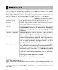 sample instruction template