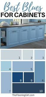 best color blue for kitchen cabinets best paint colors for kitchen cabinets and bathroom vanities