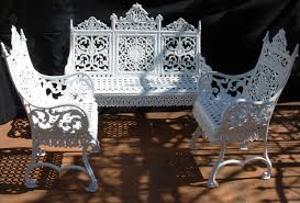 popular cast iron outdoor furniture all home decorations