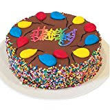 amazon triolo u0027s bakery chocolate brownie birthday cake