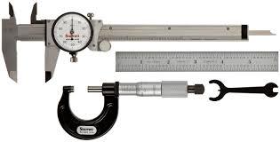 starrett s909z inch basic precision measuring tool set tools