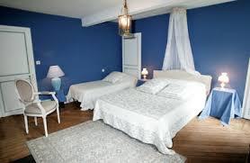 chambre bleue 4 grandes chambres d hôtes salle de bain lit 160 petit déjeuners