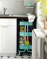 ikea kitchen cabinets on wheels 48 kitchen storage hacks and solutions for your home