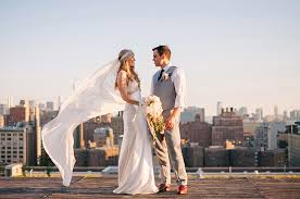 wedding shoes nyc sunset rooftop wedding in new york imogen reuben green
