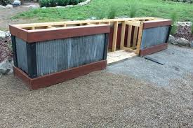 diy outdoor kitchen cabinets outdoor kitchen build question masonry contractor talk outdoor