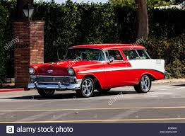 nomad drag car a 1956 chevy nomad station wagon stock photo royalty free image
