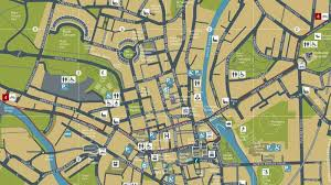 map uk bath buy official map of bath visit bath