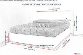 materasso standard letti singoli dimensioni avec misure standard materassi