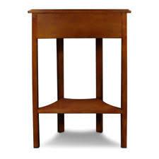 leick corner accent table leick furniture 9016 corner accent table ebay
