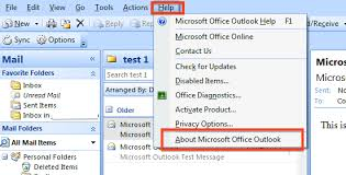 Microsoft Office Outlook Help Desk How To Determine Which Version Of Microsoft Outlook You Are Using
