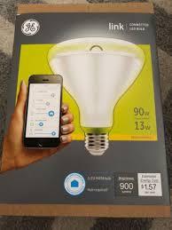 ge link light bulb ge link 90w equivalent bright white par38 connected home flood led