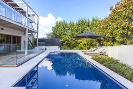 outdoor modern backyard design ideas captivating brown wall accent