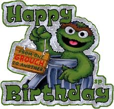 Oscar The Grouch Meme - image oscar the grouch birthday from 1 grouch to another gif