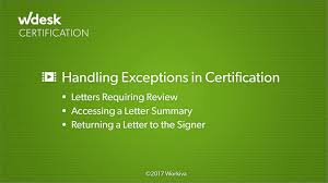 Certification Approval Letter Approving Letters Through Certification Wdesk Help