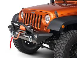 bumpers for jeep barricade wrangler trail hd front bumper w led lights