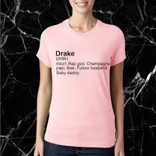 drake definition pink tee funny tshirt popular womens clothing