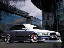 Bmw M3 All Black - e36 wallpapers group 68