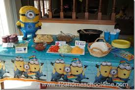 Minion Birthday Decorations Despicable Me Birthday Party