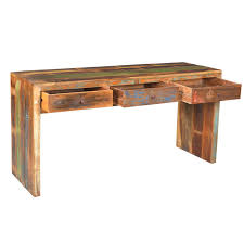 industrial 3 dwr hall table home sweet home