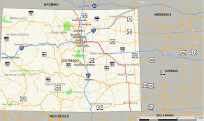 Highway Map Of Usa Us Highway Map Colorado Usroad22 Thempfa Org