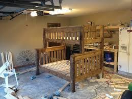 twin over full bunk bed plans regarding house bunk beds design