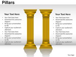 Pillars Pillars Powerpoint Presentation Templates