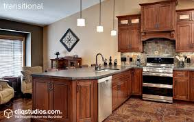 Transitional Kitchen Design Ideas Kitchen Style Guide Cliqstudios