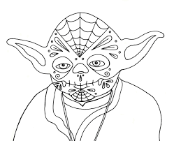 12 images of simple yoda coloring pages printable star wars yoda