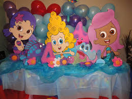 bubble guppies party theme ideas 4099