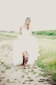 high low wedding dress with cowboy boots high low wedding dresses search i do