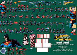 Superman Sprite Database
