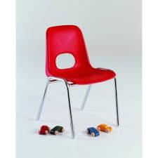Chaise Coque Plastique Empilable Accrochable Non Feu M2 Chaises Empilables Table Polyethylene