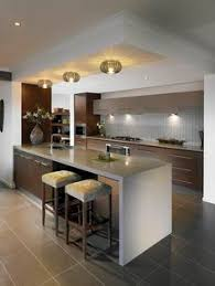 kitchen modern ideas this contemporary kitchen is at the center of this u shaped