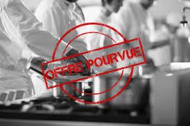 emploi chef cuisine offre d emploi chef cuisinier brasserie hcr recrutement
