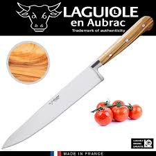 laguiole kitchen knives laguiole chef s knife olive wood cookfunky
