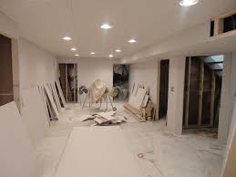 finish basement walls without drywall and two they finished