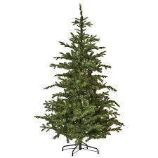 martha stewart living 7 5 ft indoor pre lit spruce