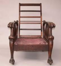 william morris style oak recliner c late 19th century 05 29 03