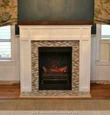 How To Build Fireplace Surround by Building A Custom Electric Fireplace Surround Planitdiy