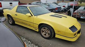 yellow chevy camaro for sale 1987 chevrolet camaro for sale carsforsale com