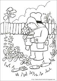 paddington bear coloring pages educational fun kids coloring