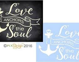 Love Anchors The Soulnautical Anchor - love anchors soul etsy