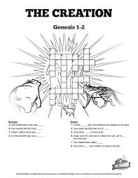 the creation story sunday crossword puzzle search for