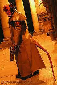 Hellboy Halloween Costume Kropserkel Hellboy Costume Samaritan Holster Replica