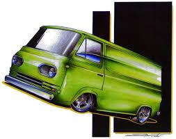 Vintage Ford Econoline Truck - rod classic custom vintage ratrod ford chevy mopar gasser tshirts