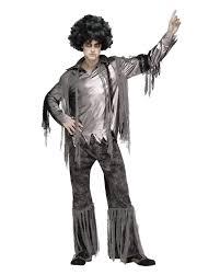 horror halloween costumes zombie disco dancer men s costume as halloween disguise horror