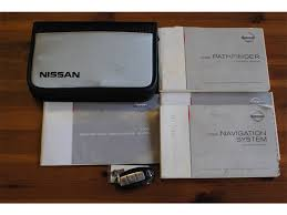 nissan pathfinder user manual 2008 nissan pathfinder le