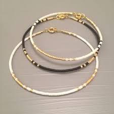 Handmade Seed Beaded Gold Plated Beaded Friendship Bracelet Turquoise Bead Bracelet Gold Nugget