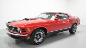 1970 Mustang Mach 1 Black Seller Of Classic Cars 1970 Ford Mustang Red Black White