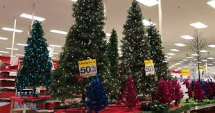 clearance christmas trees 50 christmas trees at target more in store and online